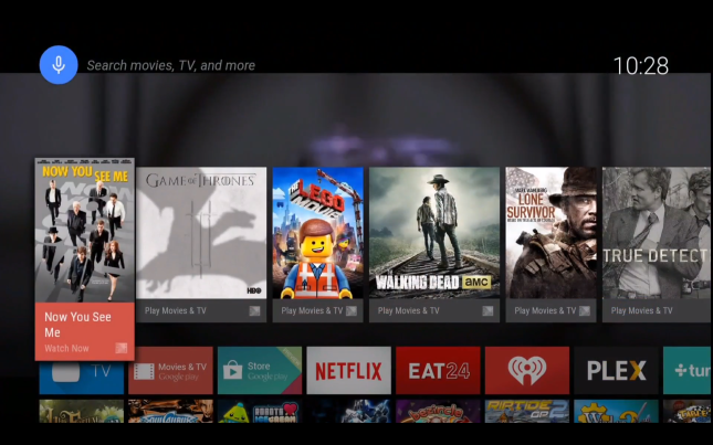 Android TV HOOKD.in