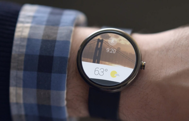 Android Wear - Moto 360 HOOKD.in
