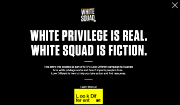 Ad Spotlight #4: WhiteSquad Pushes it Uncomfortably, but Wonderfully Far | HOOKD.in